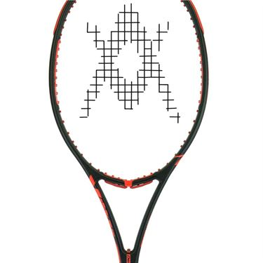 Volkl Super G 10 Mid (Used) Black/Red Tennis Racquet