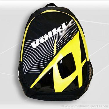 Volkl Team Backpack Black/Yellow Tennis Bag