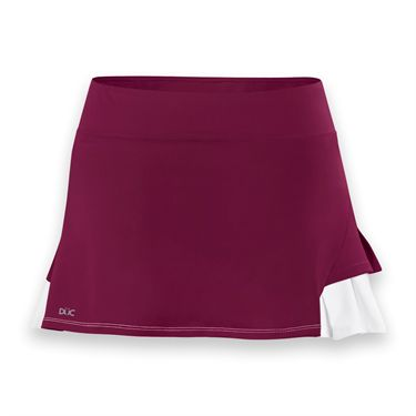 DUC Flirt Skirt-Maroon