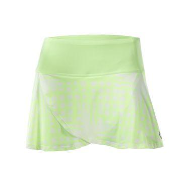 Athletic DNA Tulip Skirt - Broken Fence Lime