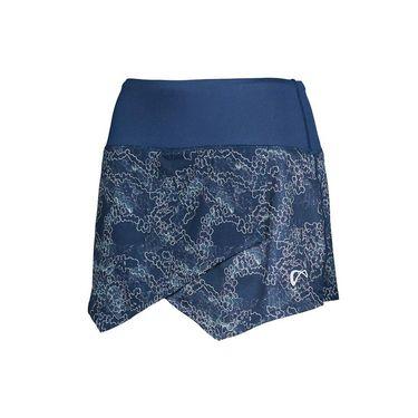 Athletic DNA Origami Skirt - Galaxy/Dress Blue