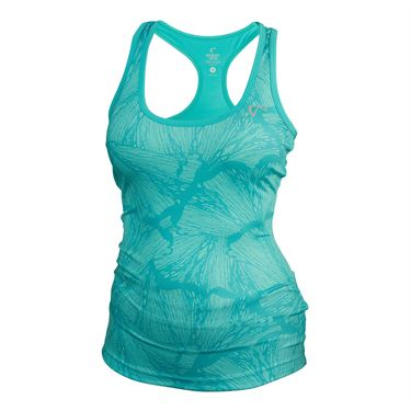 Athletic DNA Refresh Sport Tank Butterfly - Aqua