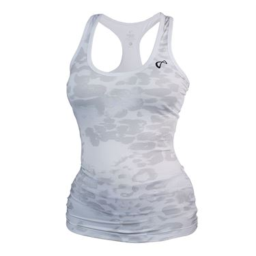 Athletic DNA Refresh Sport Tank Animal Instinct - White