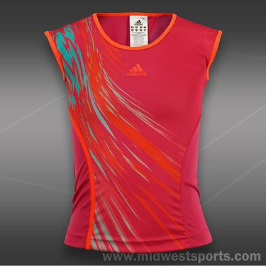 adidas Girls adizero Cap Sleeve