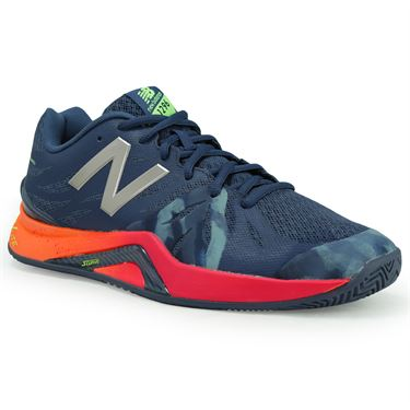 New Balance WC1296N2 (D) Womens Tennis Shoe - Vintage Indigo/Alpha Pink