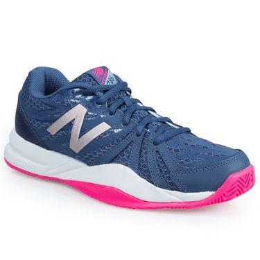 New Balance WC786VI2 (B) Womens Tennis Shoe - Navy/Pink