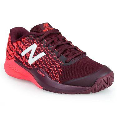 New Balance WCH996O3 (D) Womens Tennis Shoe - Maroon/Pink