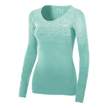 Asics Seamless Long Sleeve Top - Soothing Sea