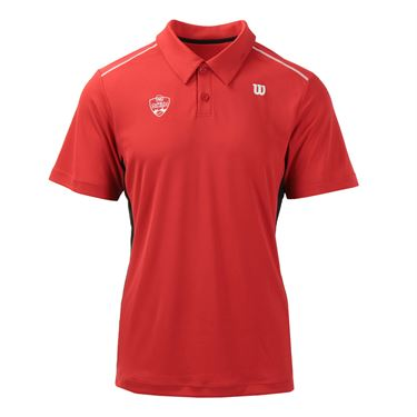 Wilson W&S Open nSet Polo - Red