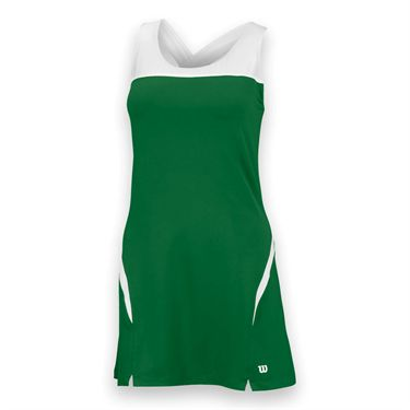 Wilson Team Dress II - Forest Green/White