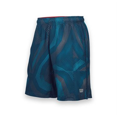 Wilson Geo Print Woven Short -Pacific Teal