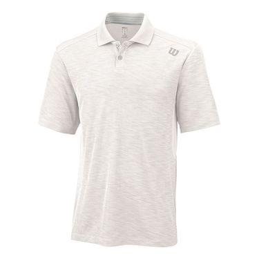 Wilson Textured Polo - White
