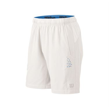 Wilson Stretch Woven 8 Inch Short - White