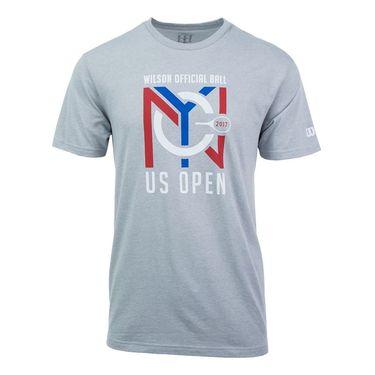 Wilson 2017 US Open NYC Tee - Grey
