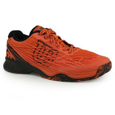 Wilson Kaos Mens Tennis Shoe - Flame/Black