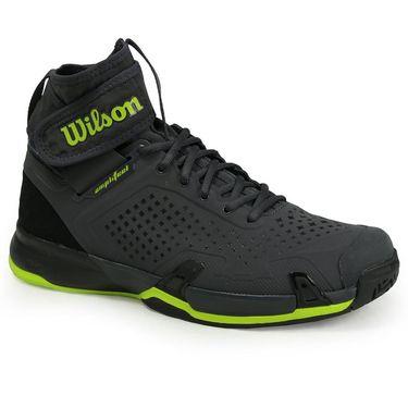 Wilson Amplifeel All Court Mens Tennis Shoe - Ebony/Black/Lime Punch