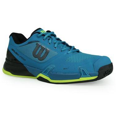 Wilson Rush Pro 2.5 Mens Tennis Shoe - Enamel Blue/Black/Safety Yellow