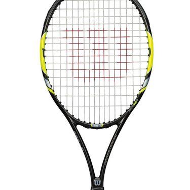 Wilson Steam 105S Yellow Tennis Racquet