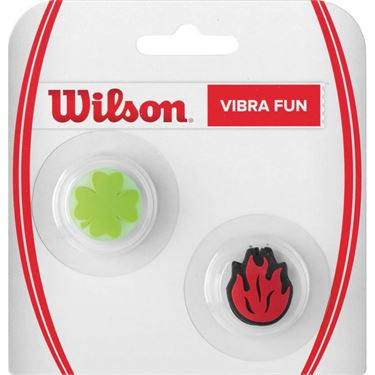 Wilson Vibra Fun Vibration Dampener - Clover/Flame