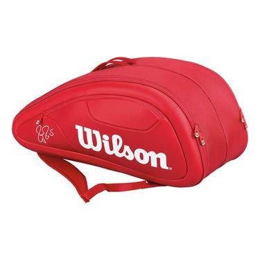 Wilson Federer DNA 12 Pack Red Tennis Bag