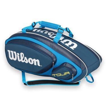 Wilson Tour V Blue 9 Pack Tennis Bag