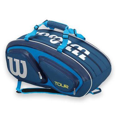 Wilson Tour V Blue 15 Pack Tennis Bag
