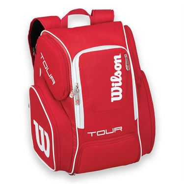 Wilson Tour V Red Large Tennis Backpack
