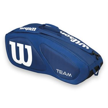 Wilson Team II Navy 6 Pack Tennis Bag