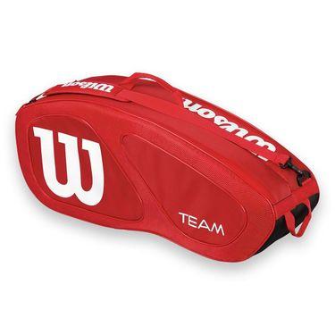 Wilson Team II Red 6 Pack Tennis Bag