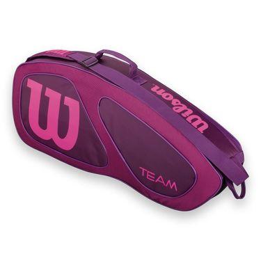 Wilson Team II Plum Triple Tennis Bag