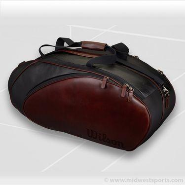 Wilson Premium Leather 6 Pack Tennis Bag