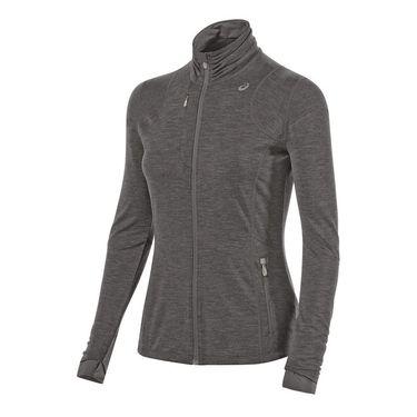 Asics Thermopolis Full Zip Jacket - Dark Grey Heather