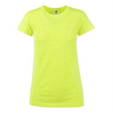 New Balance M4M Seamless Top - Firefly/Heather