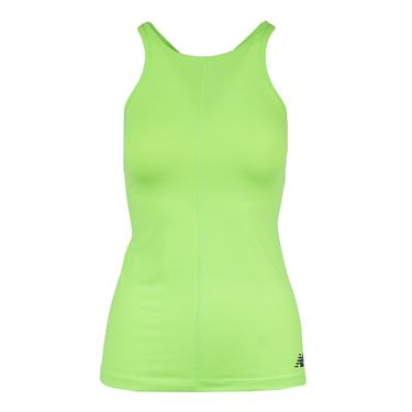 New Balance Centre Court Tank - Lime Glo