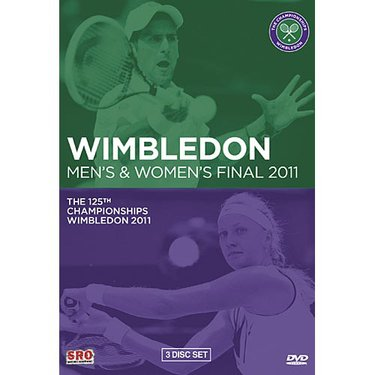 Wimbledon 2011 Mens and Womens Finals DVD