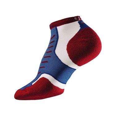 Thorlo Experia USA Micro Mini Tennis Sock