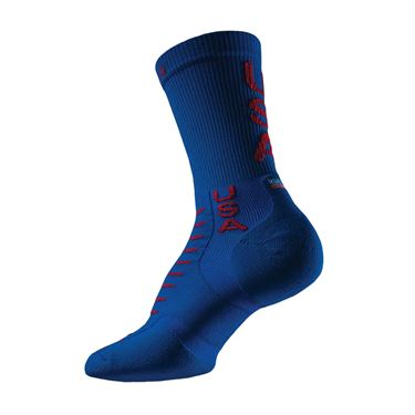 Thorlo Experia USA Crew Tennis Sock