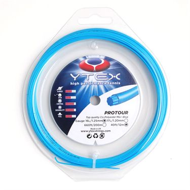 YTEX ProTour Blue 17L Tennis Strings