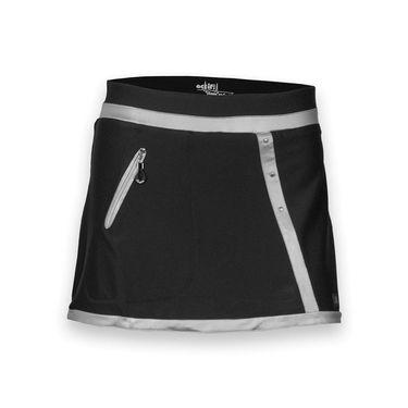 Jamie Sadock Zipper Skirt - Jet Black