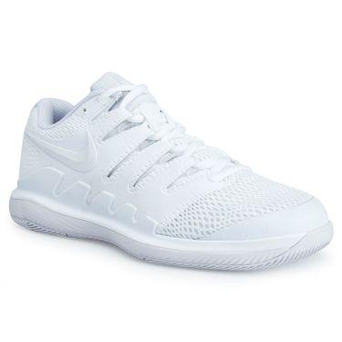 Nike Air Zoom Vapor X Womens Tennis Shoe - White/Grey