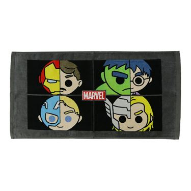 Avengers Team Split Personality Sports Towel - Multi