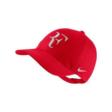 Nike Court Aerobill H86 RF Hat - Red/Grey AH6985 657