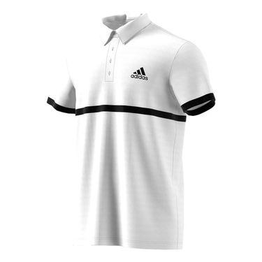 adidas Court Polo - White/Black