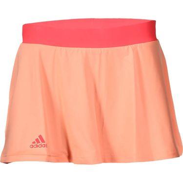 adidas Club Trend Skirt - Sun Glow/Green Glow/Shock Red