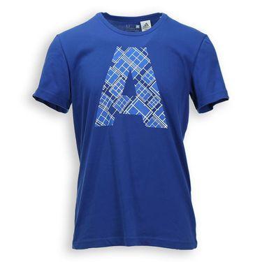 adidas A Blue Graphic Crew - EQT Blue