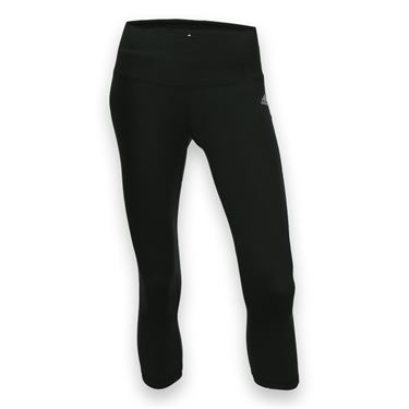 adidas Performer Mid Rise 3/4 Tight - Black/Matte Silver