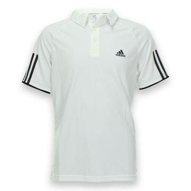 adidas Boys Club Polo - White/Black