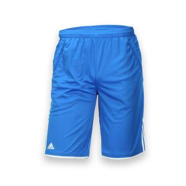 adidas Boys Club Bermuda - Shock Blue/White