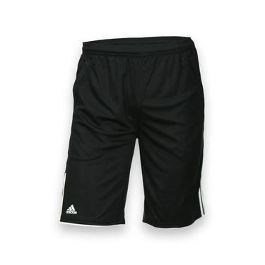 adidas Boys Club Bermuda - Black/White