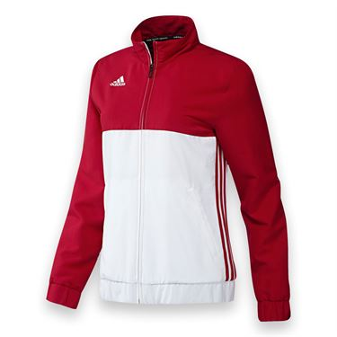 adidas T16 Jacket - Power Red/White